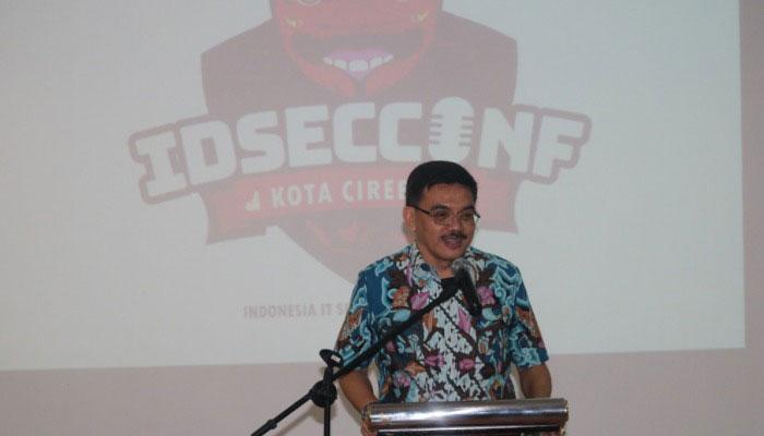 Sambutan dan Pembukaan IDSECCONF 2019 Oleh Iing Daiman, SIP., MSI.